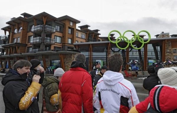 Wioska olimpijska w Whistler /AFP