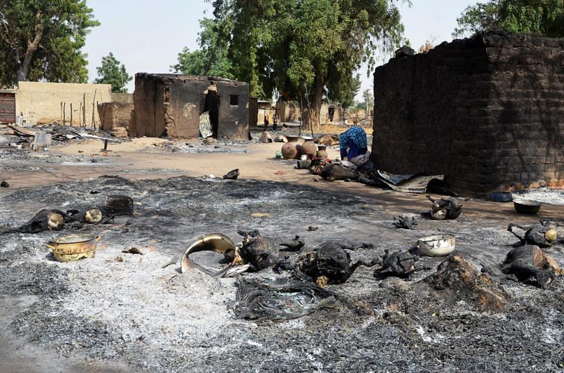 Wioska po ataku Boko Haram; zdj. ilustracyjne /AFP