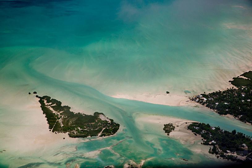 Wioska Poland to jedna z osad, które znajdują się na wyspie Kiritimati /Jonas Gratzer /Getty Images