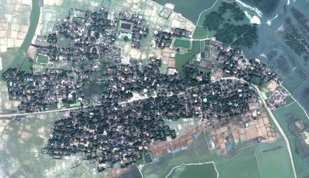 Wioska Yae Twin Kyun w maju /Human Rights Watch /Materiały prasowe