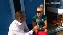 Wioślarstwo. Agnieszka Kobus-Zawojska o warunkach przygotowań do igrzysk olimpijskich (POLSAT SPORT). Wideo
