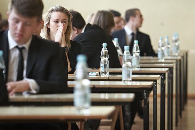 Wiosną 2015 r. po raz pierwszy przeprowadzany zostanie egzamin maturalny w nowej formule /Michał Tuliński /Reporter