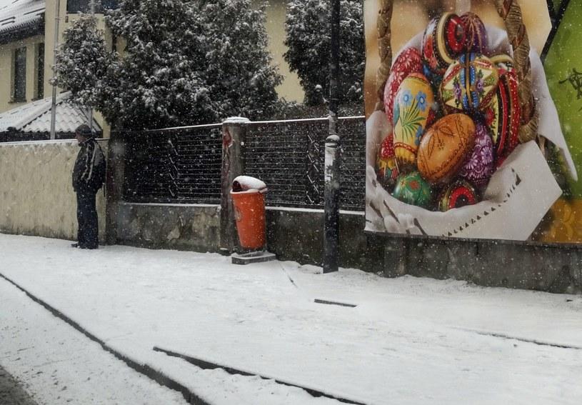 Wiosna jeszcze przez jakiś czas będzie przypominała zimę /Fot. A. Grygiel /PAP