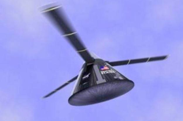 Wirniki w kapsułach lepsze niż spadochrony? /NASA