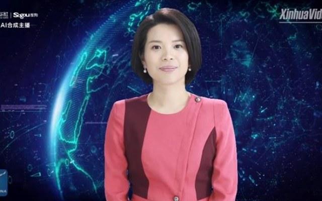 Wirtualna prezenterka Agencji Xinhua /materiały prasowe