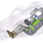 Wirtualne manekiny poprawią bezpieczeństwo w sportach motorowych