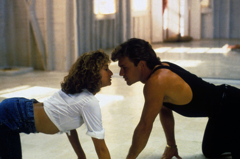 """Wirujący seks"" Jennifer Grey i Patricka Swayze'ego /Collection Christophel /East News"