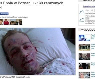 """""""Wirus Ebola już w Polsce"""" - kolejne oszustwo na Facebooku"""