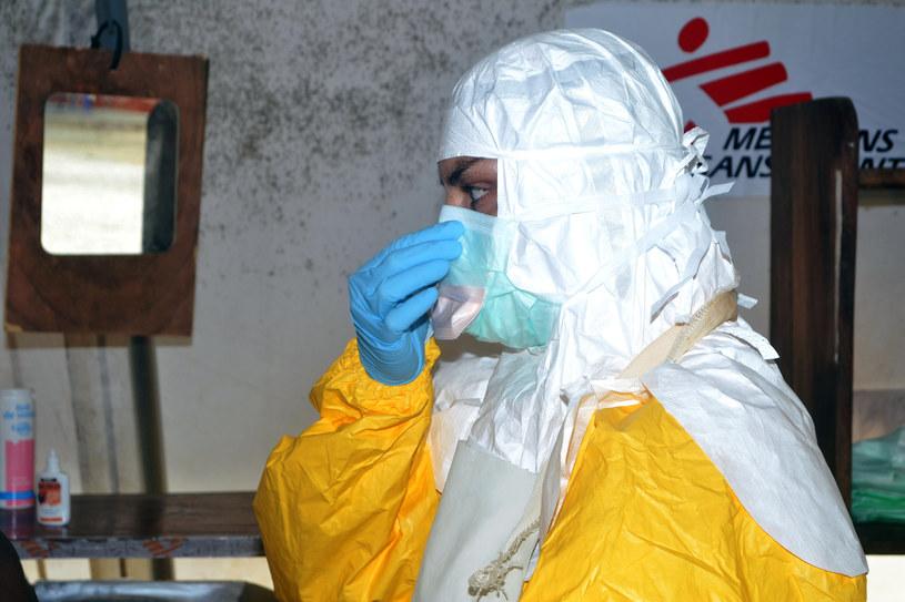 Wirus Ebola wciąż zabija /AFP