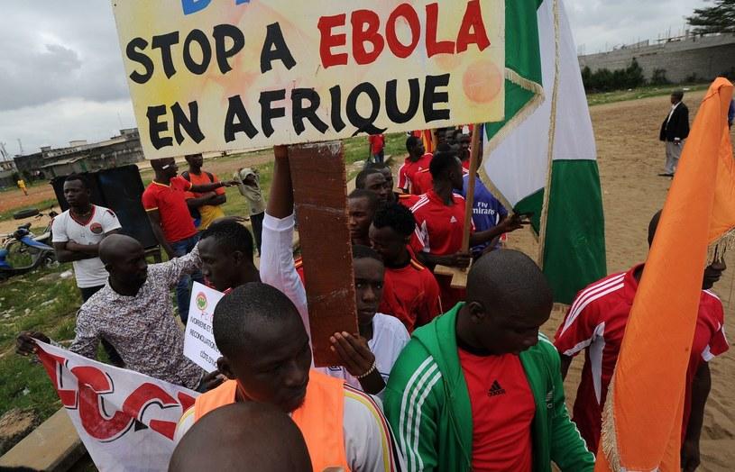 Wirus ebola zabija /AFP