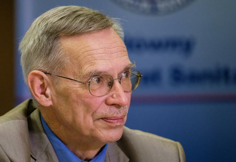 Wirusolog prof. Włodzimierz Gut /Mateusz Grochocki /East News