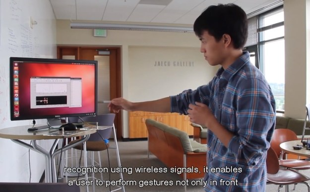 WiSee działa dzieki sieci WiFi /materiały prasowe