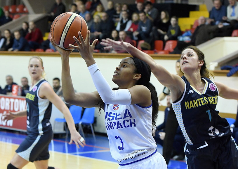 Wisła CanPack Kraków - Nantes Reze Basket / PAP/Jacek Bednarczyk /PAP