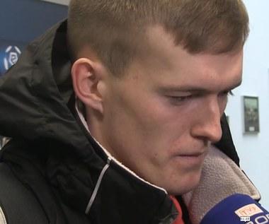 Wisła - Jagiellonia 2-2. Karol Świderski po meczu. Wideo