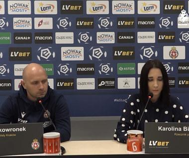 Wisła Kraków. Artur Skowronek: Chcemy być skuteczniejsi. Wideo