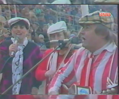 Wisła Kraków. Cracovia - Wisła 2-0. Rok 1988, mecz o Herbową Tarczę Krakowa. Wideo