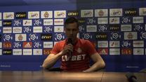 Wisła Kraków. Damian Pawłowski: Mam nadzieję, że dostanę szansę. Wideo