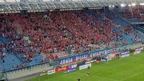 Wisła Kraków. Feta kibiców Wisły Kraków po zwycięstwie z Zagłębiem Lubin 3-0. Wideo