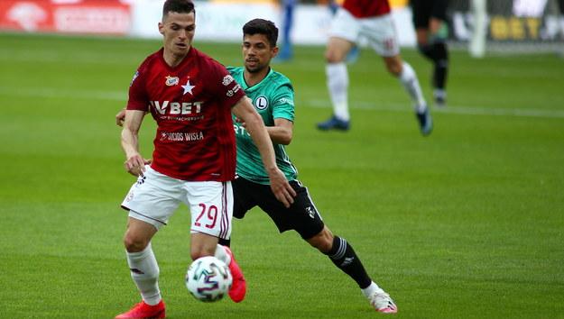 Wisła Kraków - Legia Warszawa //Łukasz Gągulski /PAP