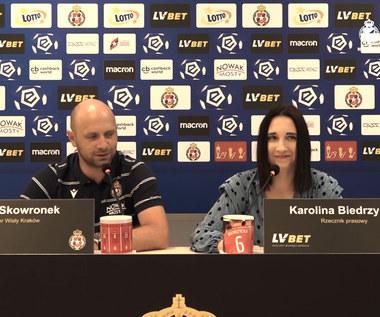 Wisła Kraków. Skowronek: Zrobimy wszystko, żeby wynik był dobry. Wideo