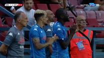 Wisła Kraków - SSC Napoli 1-2. Gol Zinedine'a Machacha! (POLSAT SPORT). Wideo