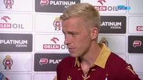 Wisła Kraków - SSC Napoli. Michal Frydrych: Szkoda, że przegraliśmy, bo graliśmy dobrze (POLSAT SPORT). Wideo