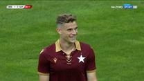 Wisła Kraków - SSC Napoli. Nieuznany gol Serafina Szota (POLSAT SPORT). Wideo