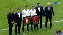Wisła Kraków - SSC Napoli. Uroczyste pożegnanie Łukasza Burligi i Rafała Boguskiego (POLSAT SPORT). Wideo