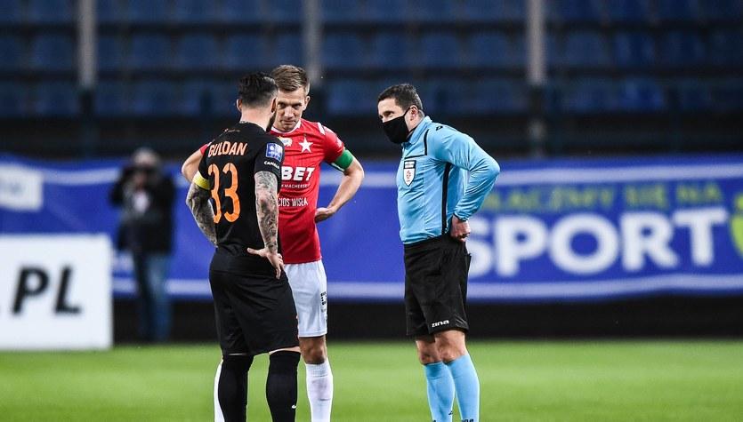 Wisła Kraków - Zagłębie Lubin 1-2 w meczu 11. kolejki Ekstraklasy