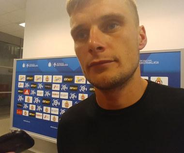 Wisła. Michał Buchalik po 4-0 z ŁKS-em. Wideo