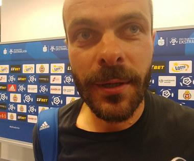 Wisła. Paweł Brożek po 4-0 z ŁKS-em. Wideo