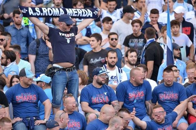 Wisła Sharks na derbach Rzymu /AFP