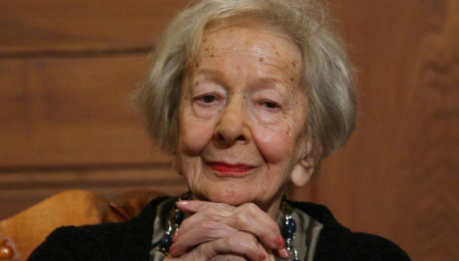 Wisława Szymborska zmarła 1 lutego 2012 roku /Jacek Bednarczyk   /PAP