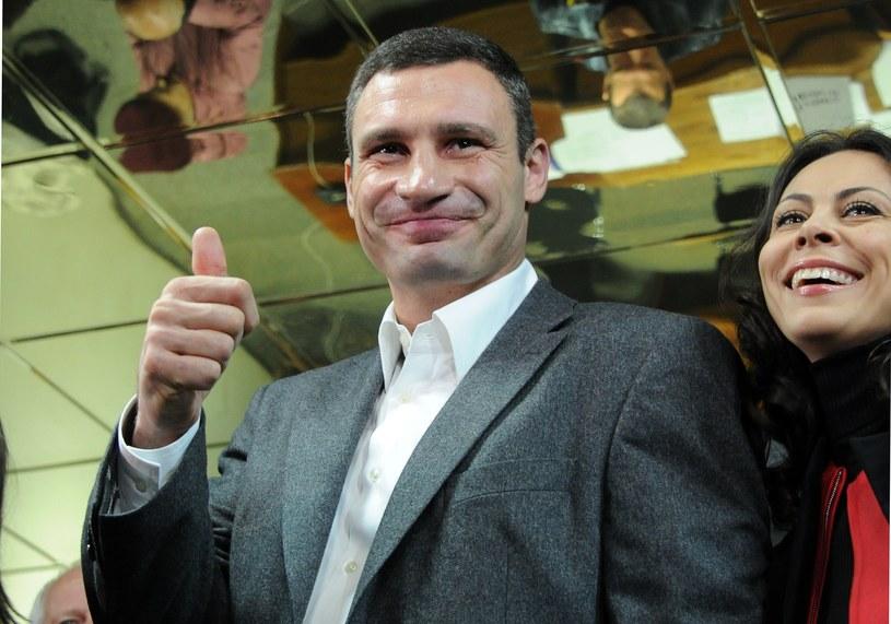 Witalij Kliczko chce namieszać w ukraińskiej polityce /AFP