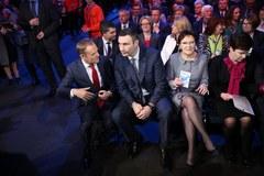 Witalij Kliczko gwiazdą konwencji PO