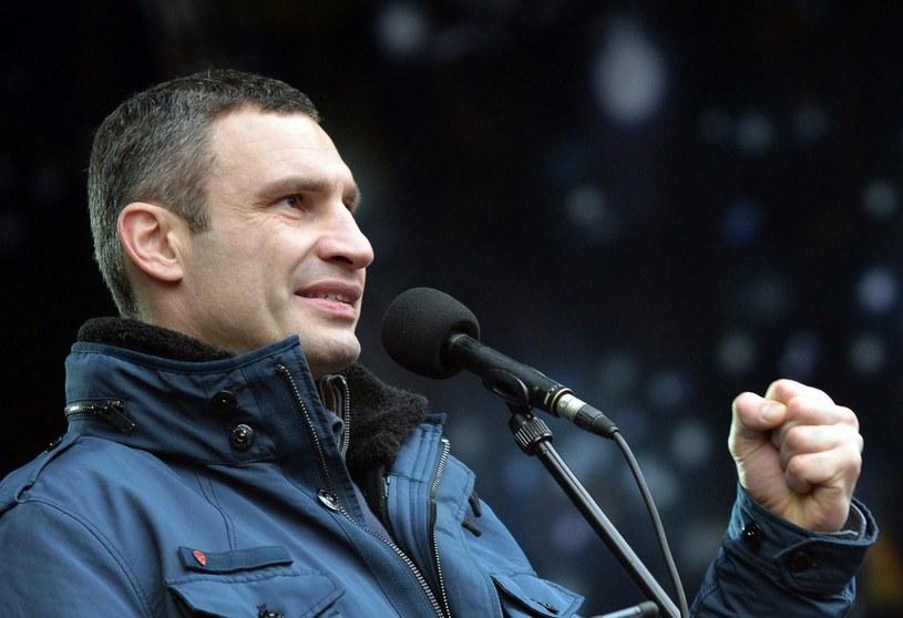 Witalij Kliczko wystartuje w wyborach prezydenckich na Ukrainie. /AFP