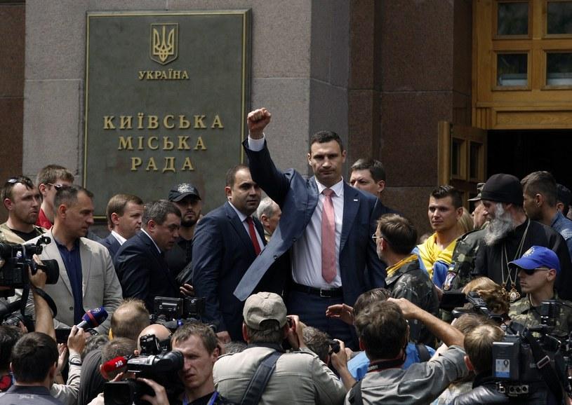 Witalij Kliczko zaapelował o pomoc dla Ukrainy /AFP