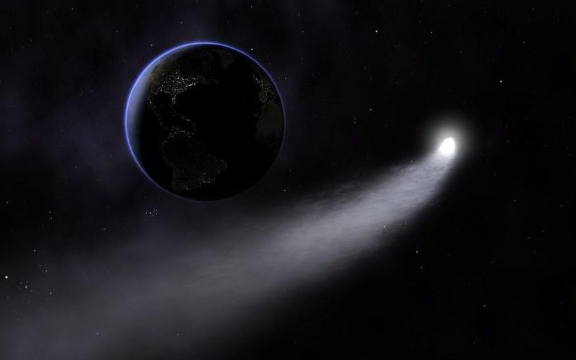 Witamina B3 przybyła na Ziemię na komecie /123RF/PICSEL