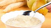 Witamina C i jod w zupie z gruszki i pietruszki