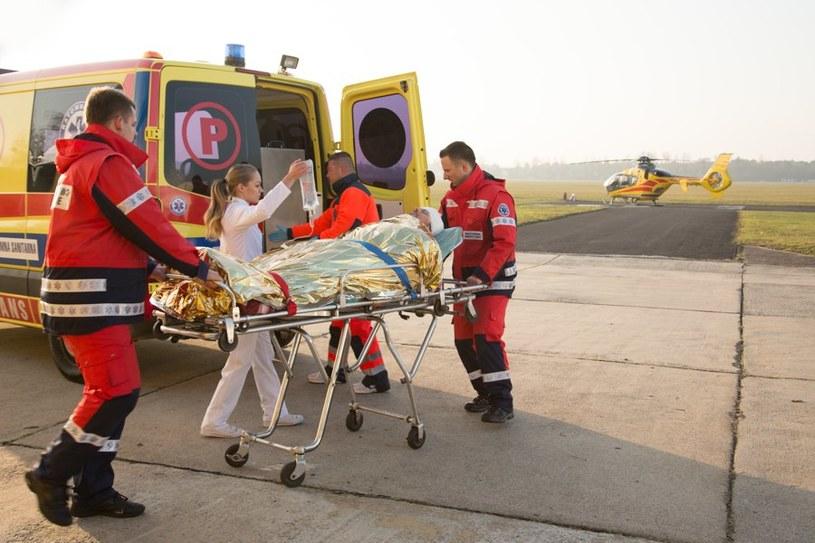 Witek nie powiedział Lenie, że wybiera się na misję... Starska również o wypadku dowie się jako ostatnia! /Agencja W. Impact