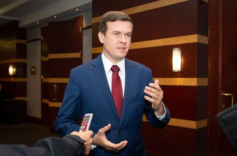 Witold Bańka, nowy szef WADA /AFP