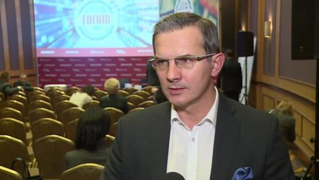 """Witold Choiński, prezes związku """"Polskie Mięso"""" /Newseria Biznes"""