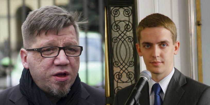 Witold Kołodziejski i Szymon Ruman /Krystian DobuszynskiREPORTER/LUKASZ KAMINSKI /East News