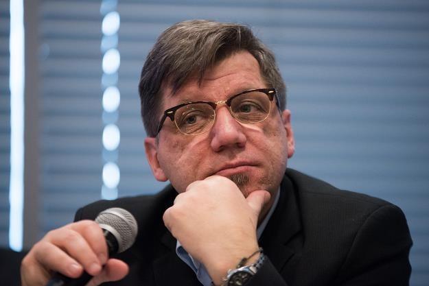 Witold Kołodziejski, przewodniczący Krajowej Rady Radiofonii i Telewizji, fot. Łukasz Piecyk /Reporter
