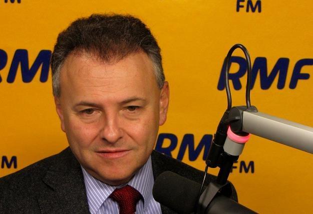 Witold Orłowski, ekonomista , członek zespołu doradców strategicznych premiera, fot. Olga Wasilewska /RMF