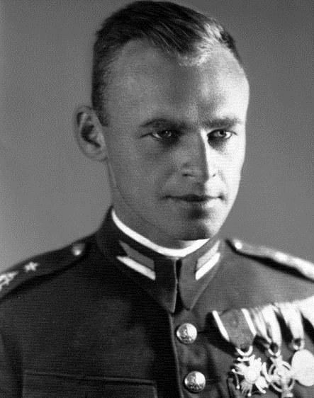 Witold Pilecki - zdjecie ze zbiorów Zofii Pileckiej-Optulowicz /Reprodukcja Tomasz Barański /Reporter