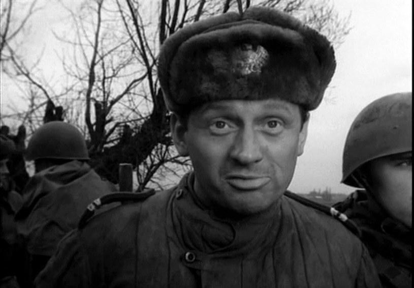 """Witold Pyrkosz do dziś wspomina, że atmosfera na planie """"Czterech pancernych…"""" była znakomita. Jednak był wyjątek... /East News/POLFILM"""