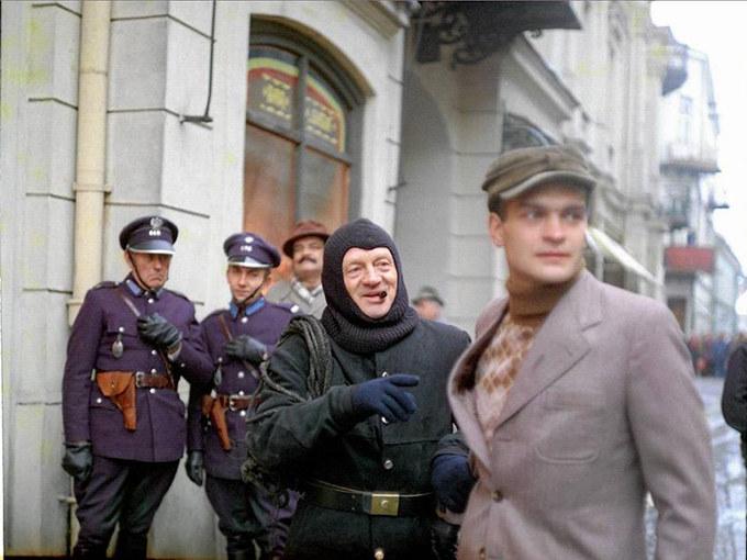 """Witold Pyrkosz i Jacek Chmielnik w filmie """"Vabank"""" (1981) /materiały prasowe"""