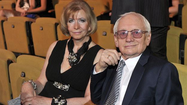 Witold Pyrkosz z żoną Krystyną /Kurnikowski /AKPA