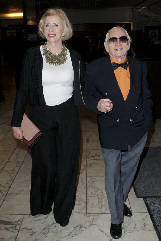 Witold Pyrkosz z żoną Krystyną /Engelbrecht /AKPA